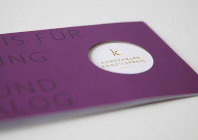 Konstanzer Konzilspreis | Kommunikationsdesign